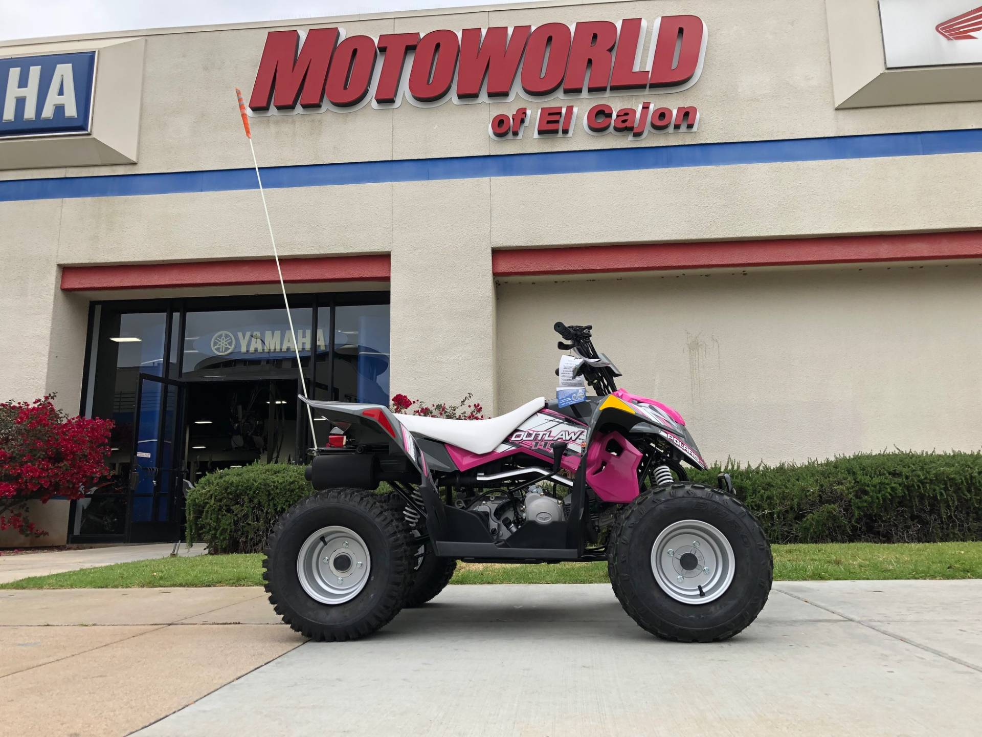 2018 Polaris Outlaw 110 for sale 157630