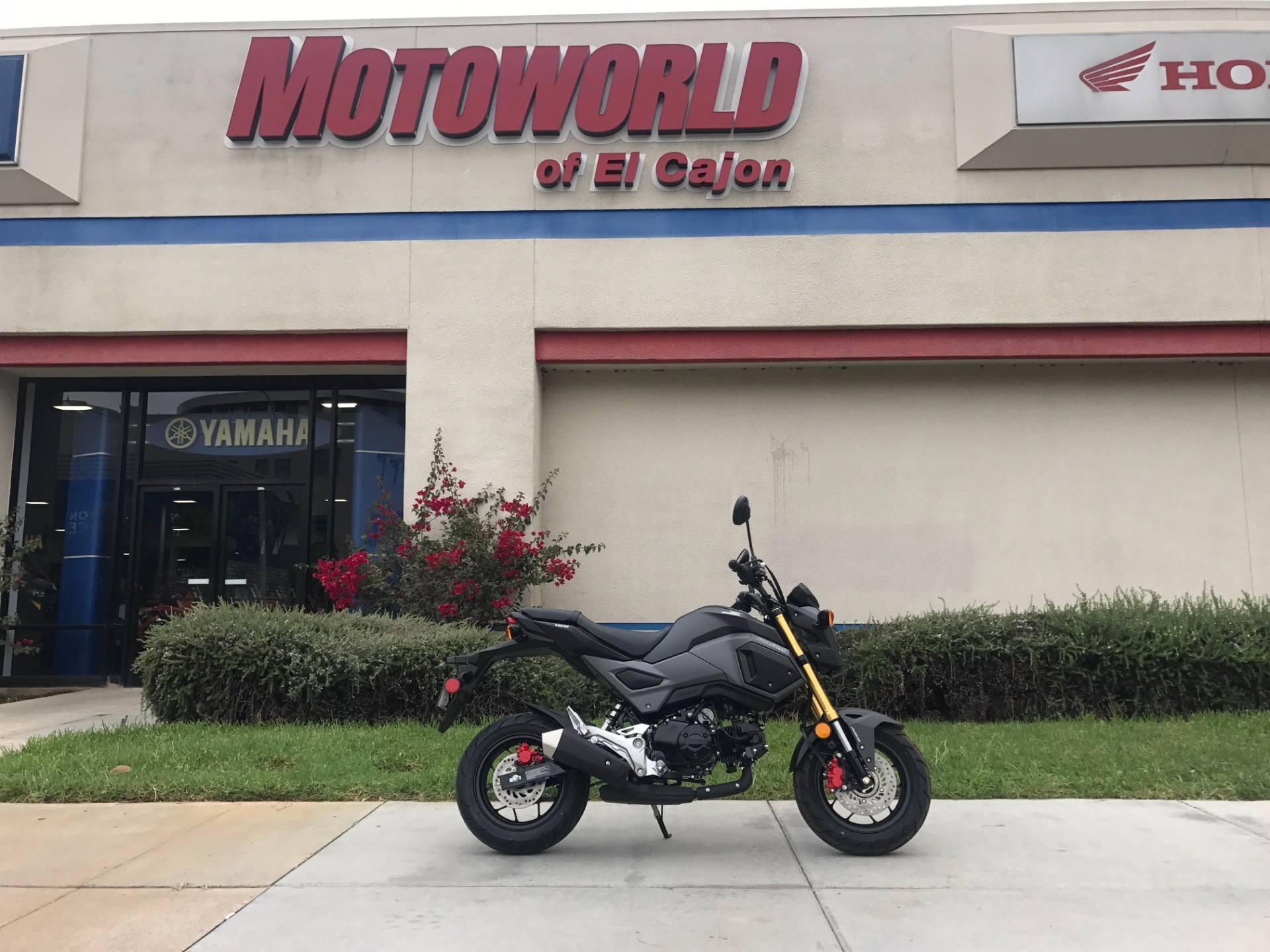 2018 Honda Grom ABS in EL Cajon, California