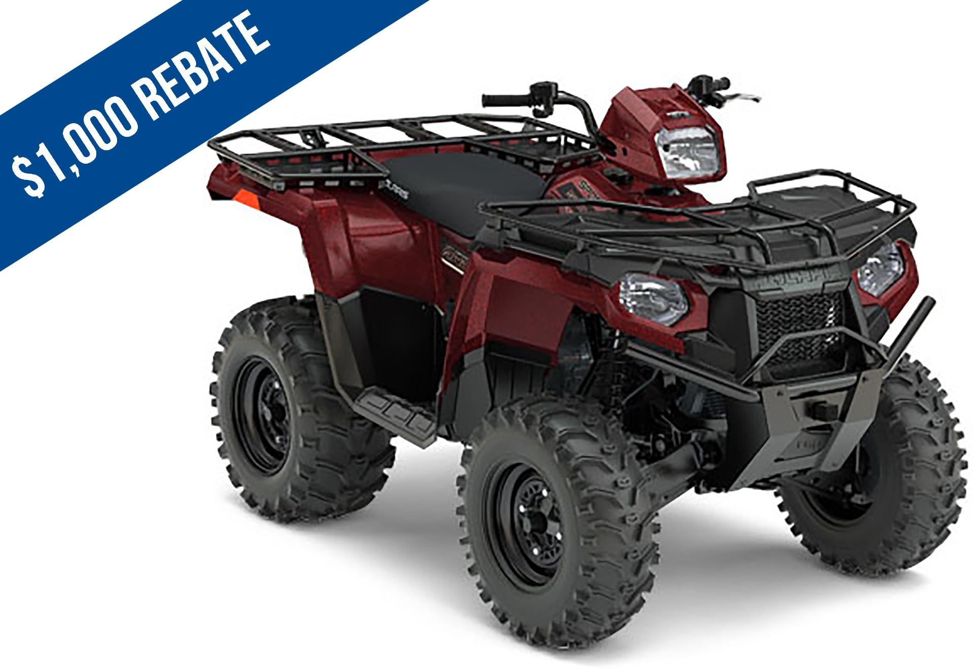 2017 Polaris Sportsman 570 EPS Utility Edition in Amory, Mississippi