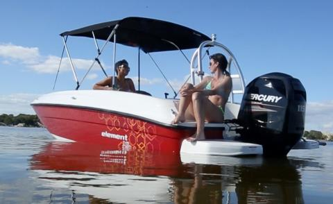 2016 Bayliner 180EL in Amory, Mississippi