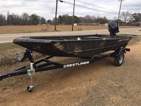 2017 Crestliner 1650 RETRIEVER JON DLX in Amory, Mississippi