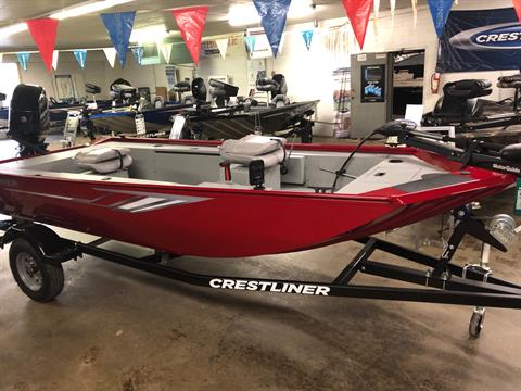 2019 Crestliner 1657 Outlook Stick Steer in Amory, Mississippi