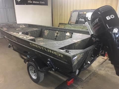 2017 Crestliner 1756 RETRIEVER JON DLX in Amory, Mississippi