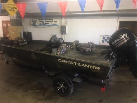 2017 Crestliner TC18 POLY in Amory, Mississippi