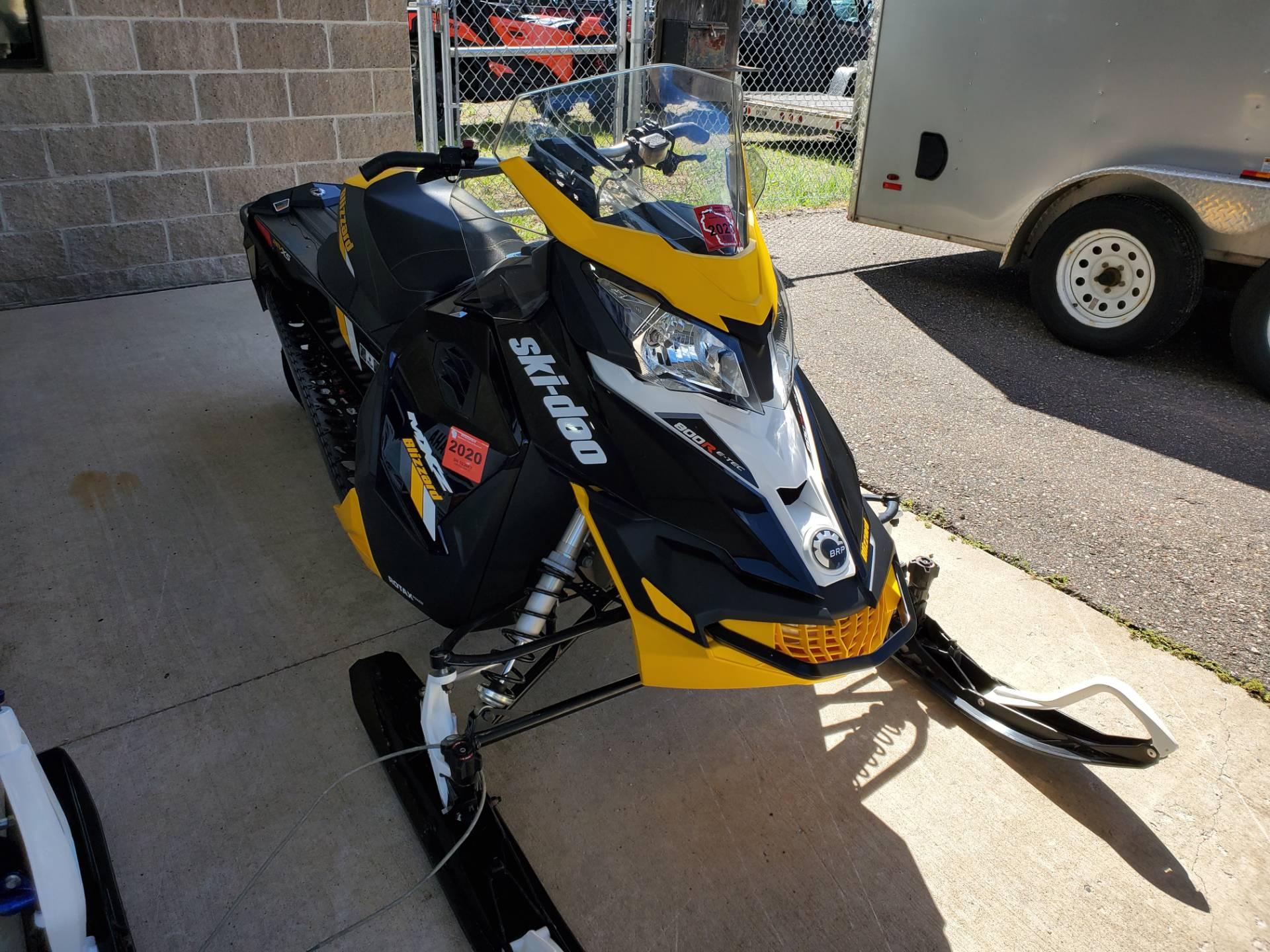 2017 Ski Doo Mxz Blizzard 800r E Tec Snowmobiles Antigo Wisconsin 17729a
