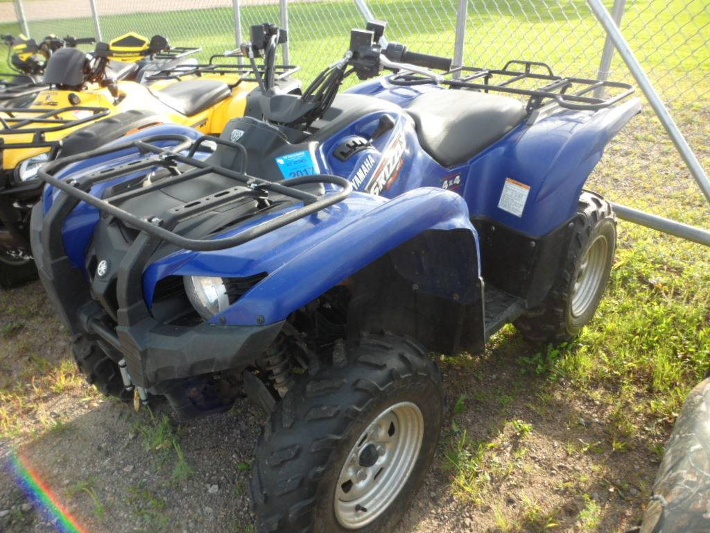 2009 Yamaha Grizzly 550 FI Auto. 4x4 EPS for sale 940