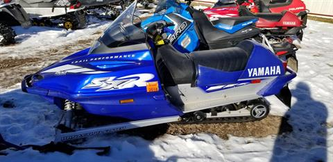 2002 Yamaha SXR in Antigo, Wisconsin