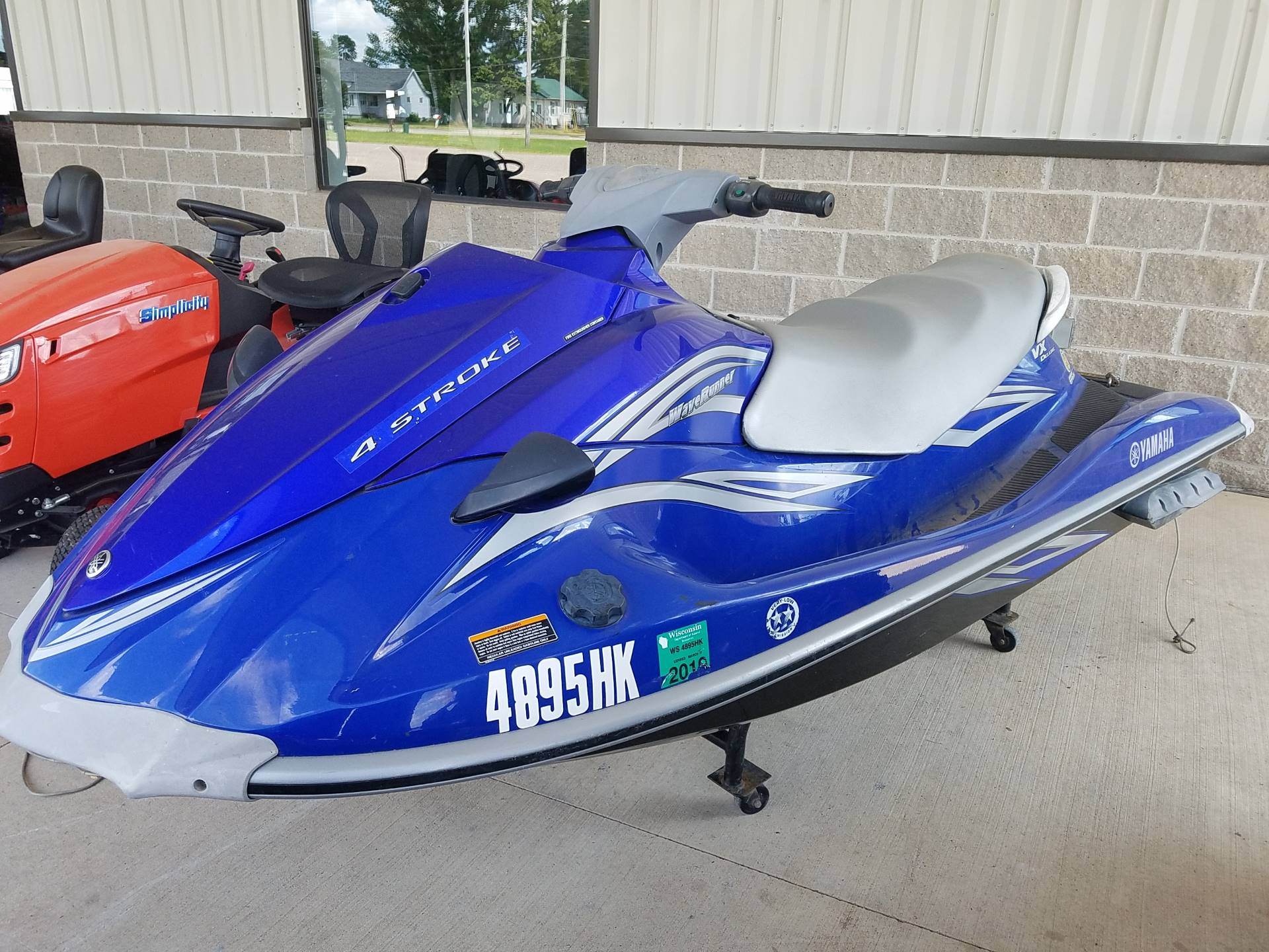 2007 Yamaha VX Deluxe for sale 95813