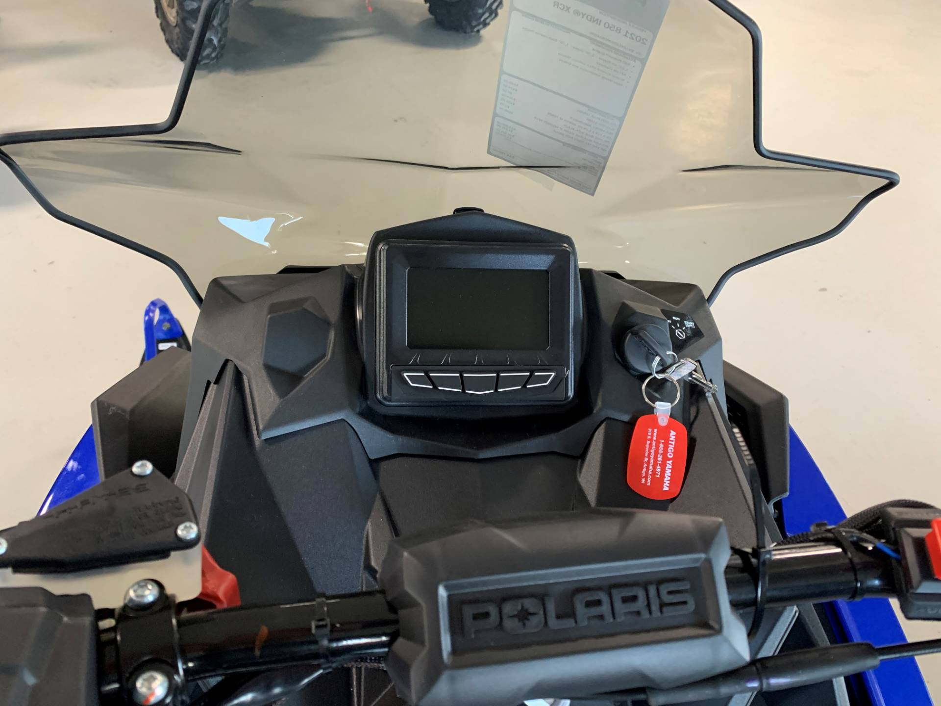 2021 Polaris 850 Indy XCR 129 Factory Choice in Antigo, Wisconsin - Photo 2