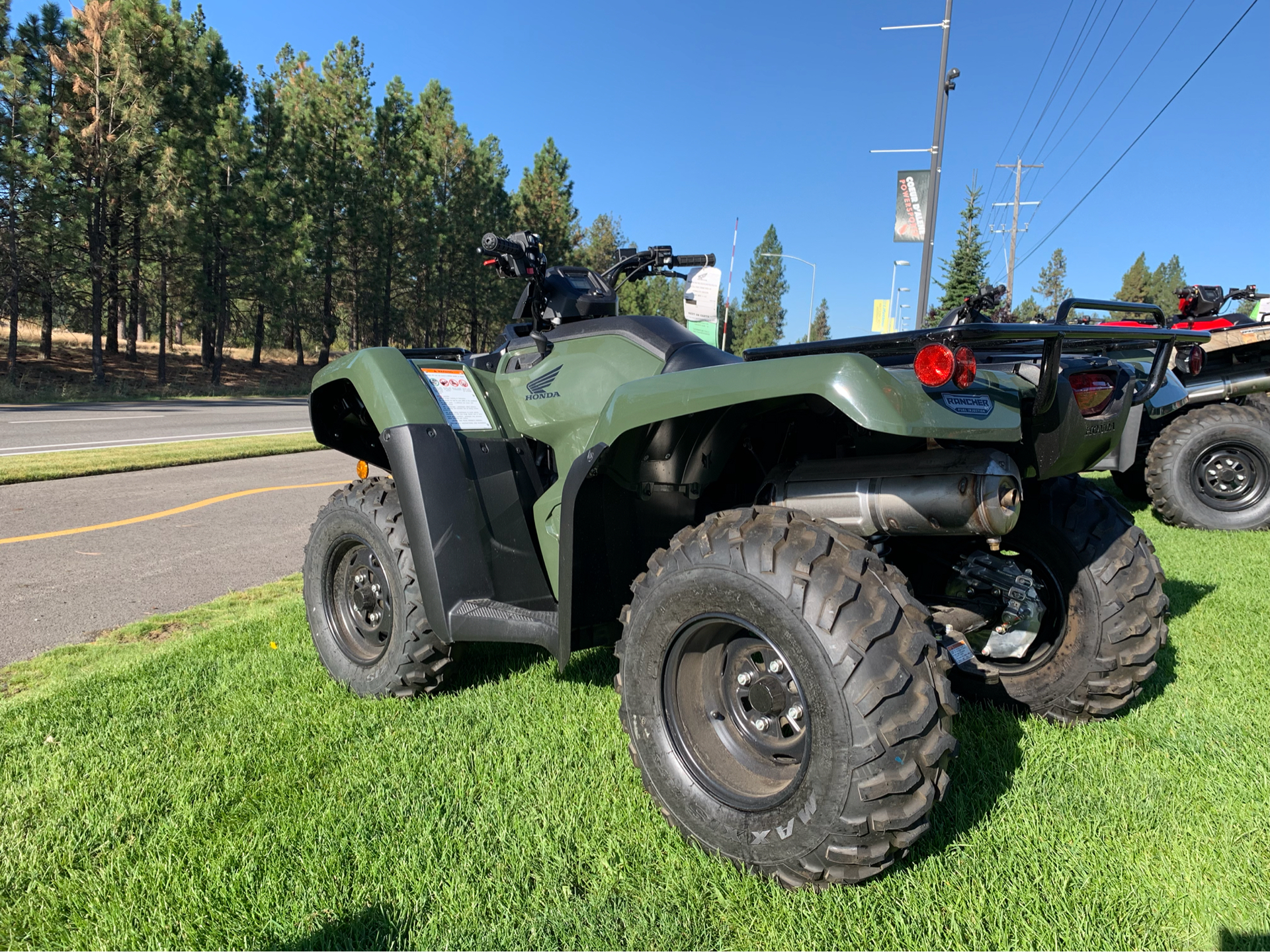 2019 Honda FourTrax Rancher 4x4 DCT EPS 2