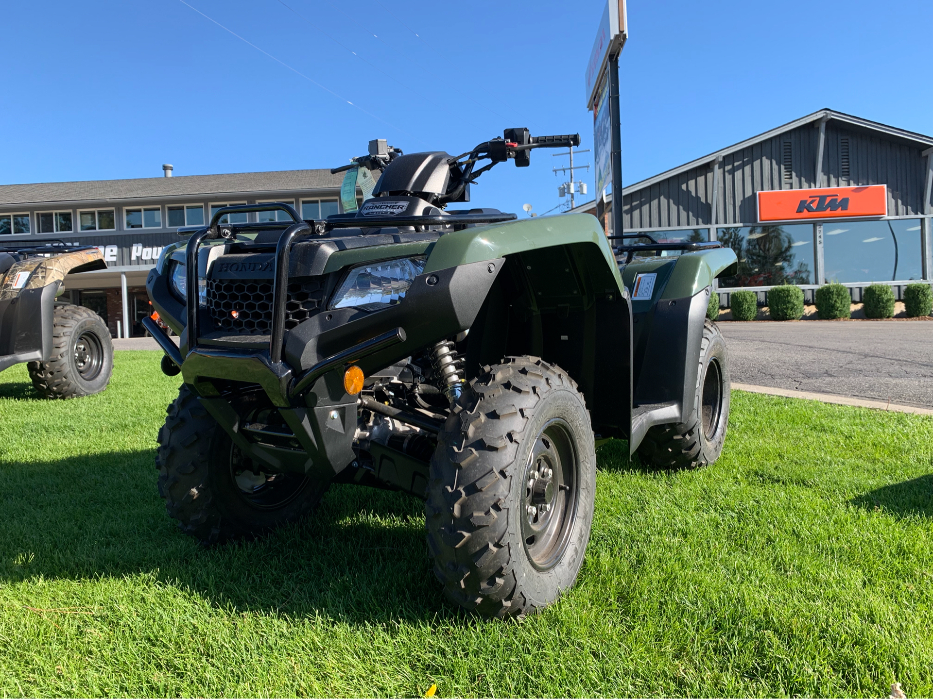 2019 Honda FourTrax Rancher 4x4 DCT EPS 5