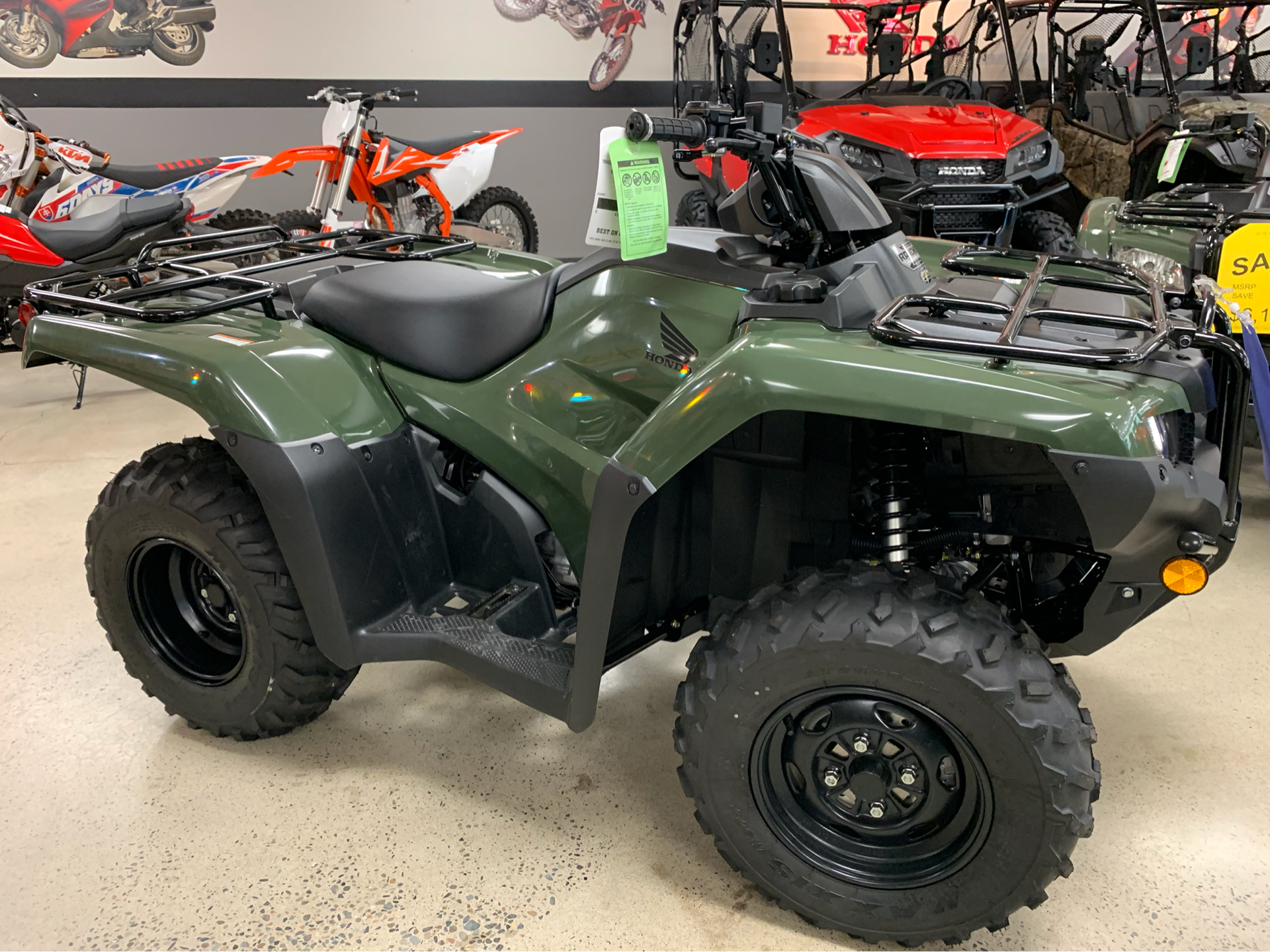2019 Honda FourTrax Rancher 4x4 DCT EPS in Coeur D Alene, Idaho - Photo 1