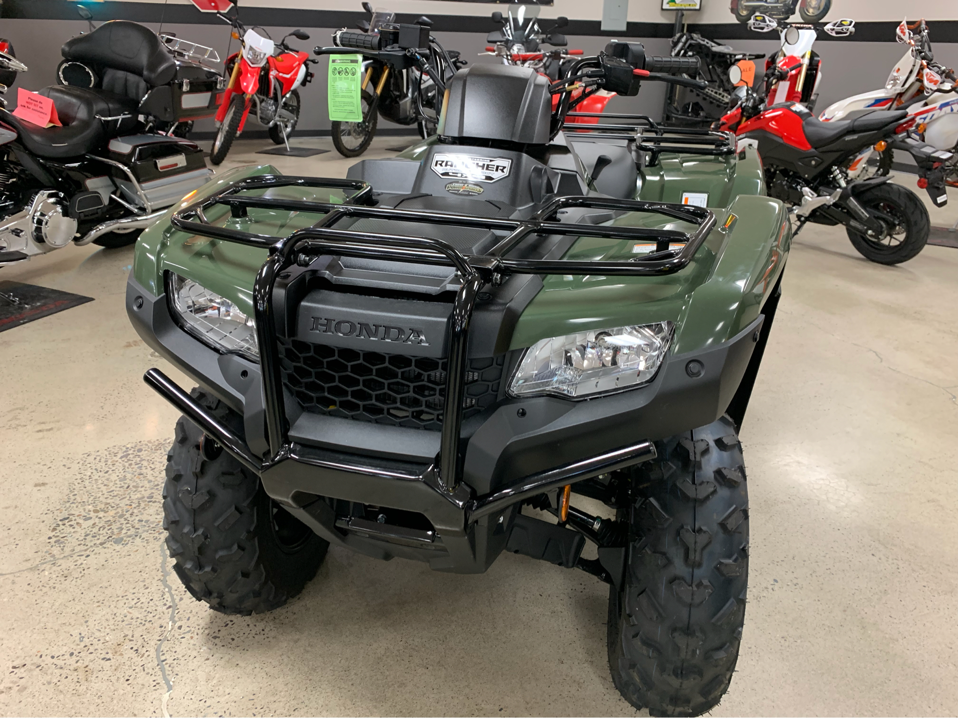 2019 Honda FourTrax Rancher 4x4 DCT EPS in Coeur D Alene, Idaho - Photo 2