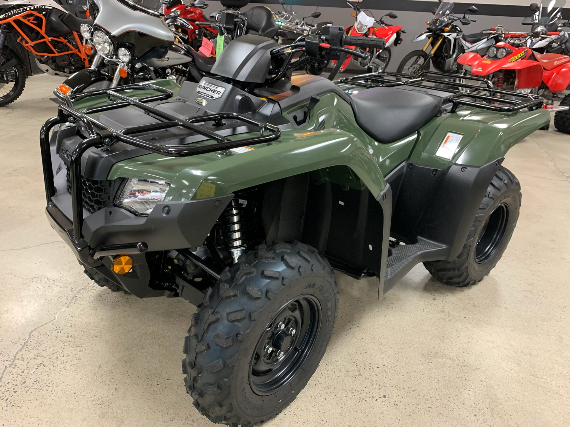 2019 Honda FourTrax Rancher 4x4 DCT EPS in Coeur D Alene, Idaho - Photo 3