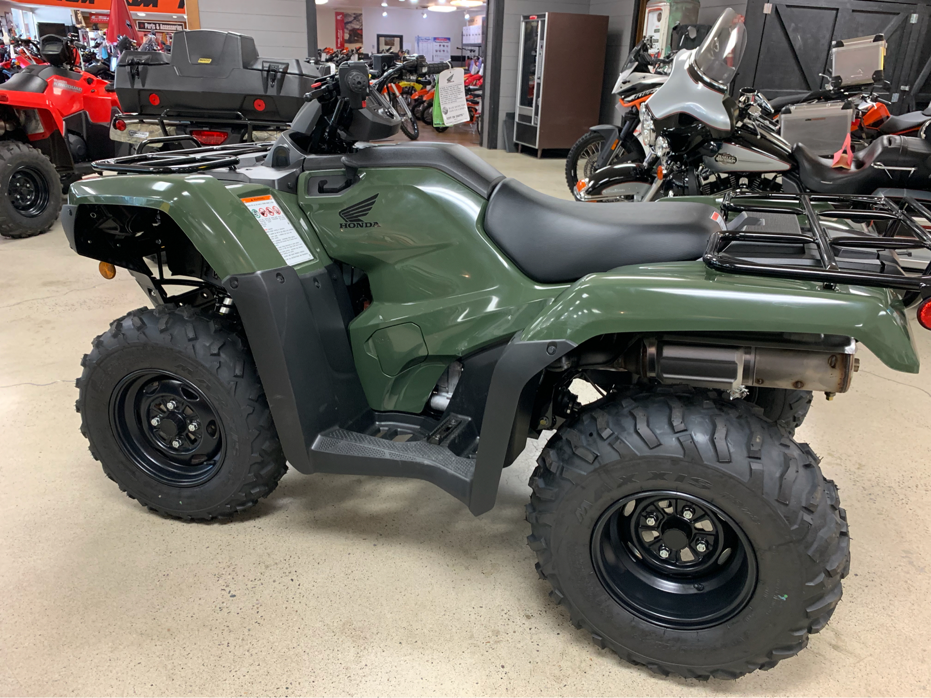 2019 Honda FourTrax Rancher 4x4 DCT EPS in Coeur D Alene, Idaho - Photo 4