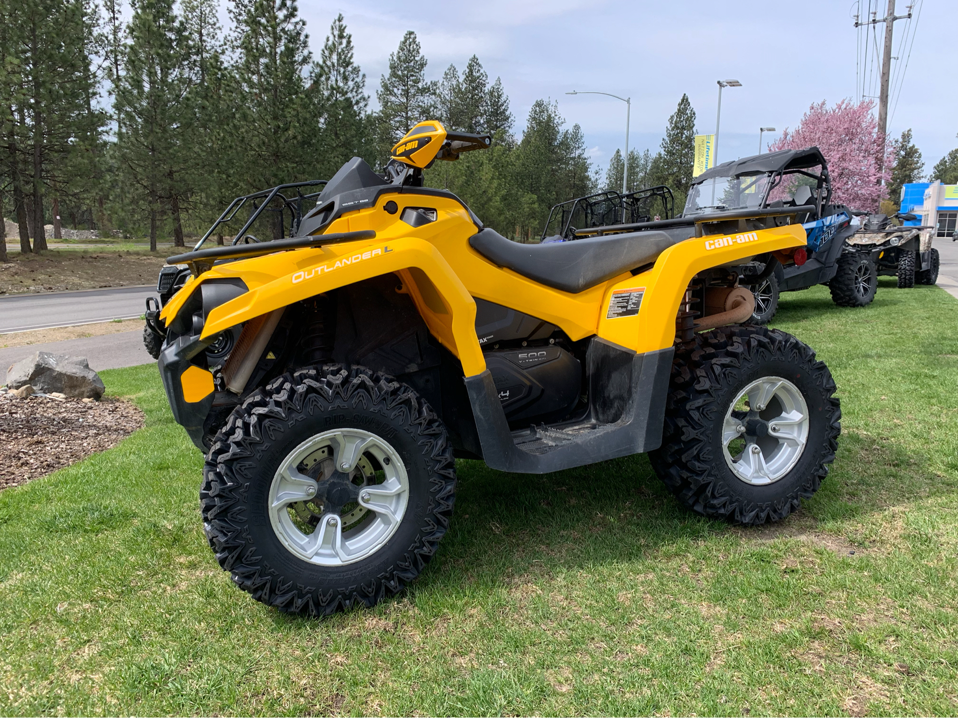 2015 Can-Am Outlander™ L DPS™ 500 in Coeur D Alene, Idaho - Photo 1