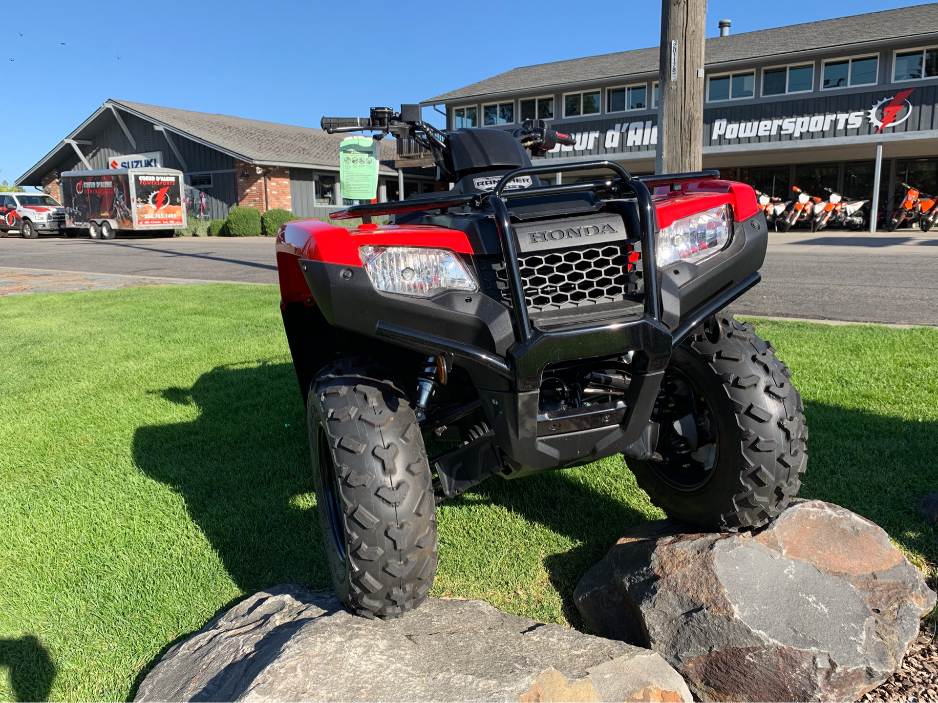 2019 Honda FourTrax Rancher 4x4 DCT EPS in Coeur D Alene, Idaho - Photo 5