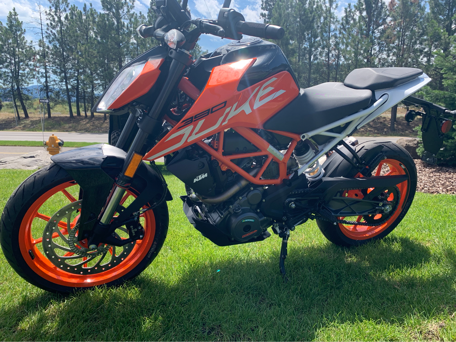 2019 KTM 390 Duke in Coeur D Alene, Idaho