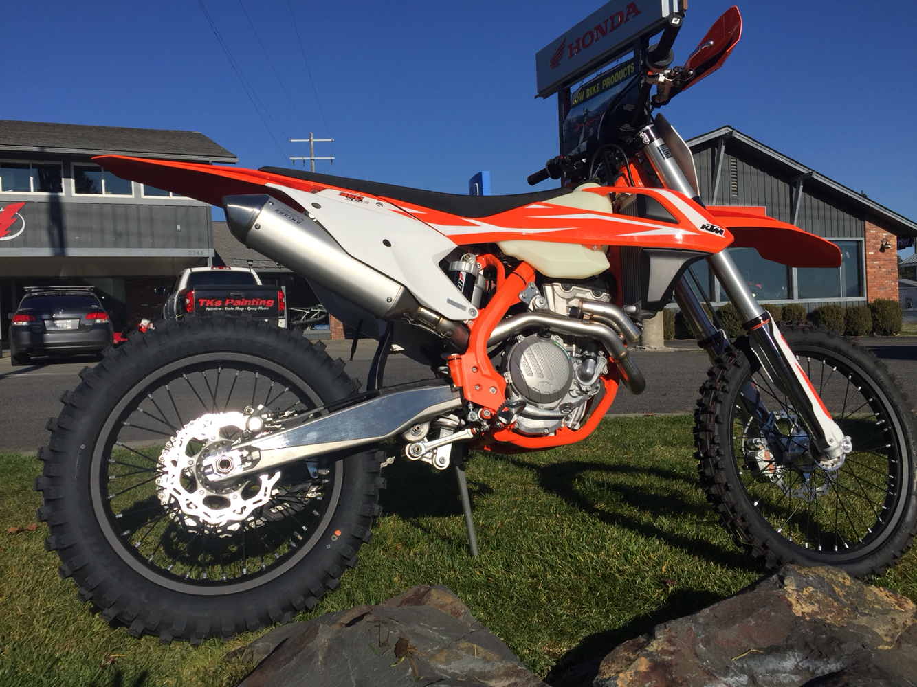 2018 KTM 350 XC-F in Coeur D Alene, Idaho - Photo 3