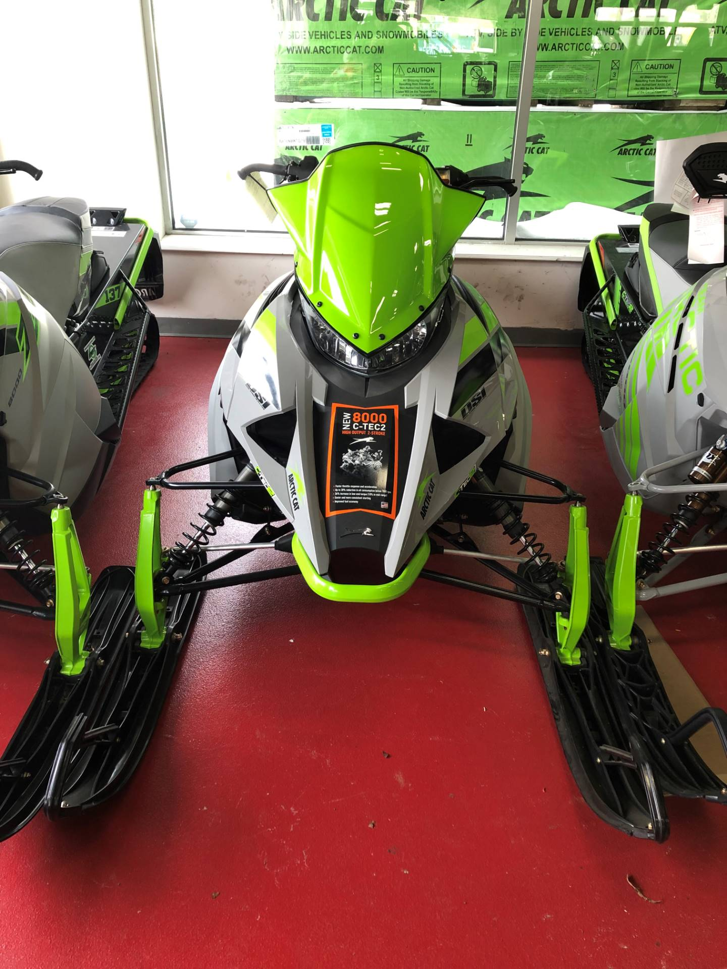 2018 Arctic Cat ZR 8000 Sno Pro ES 129 Early Release in Marlboro, New York - Photo 1