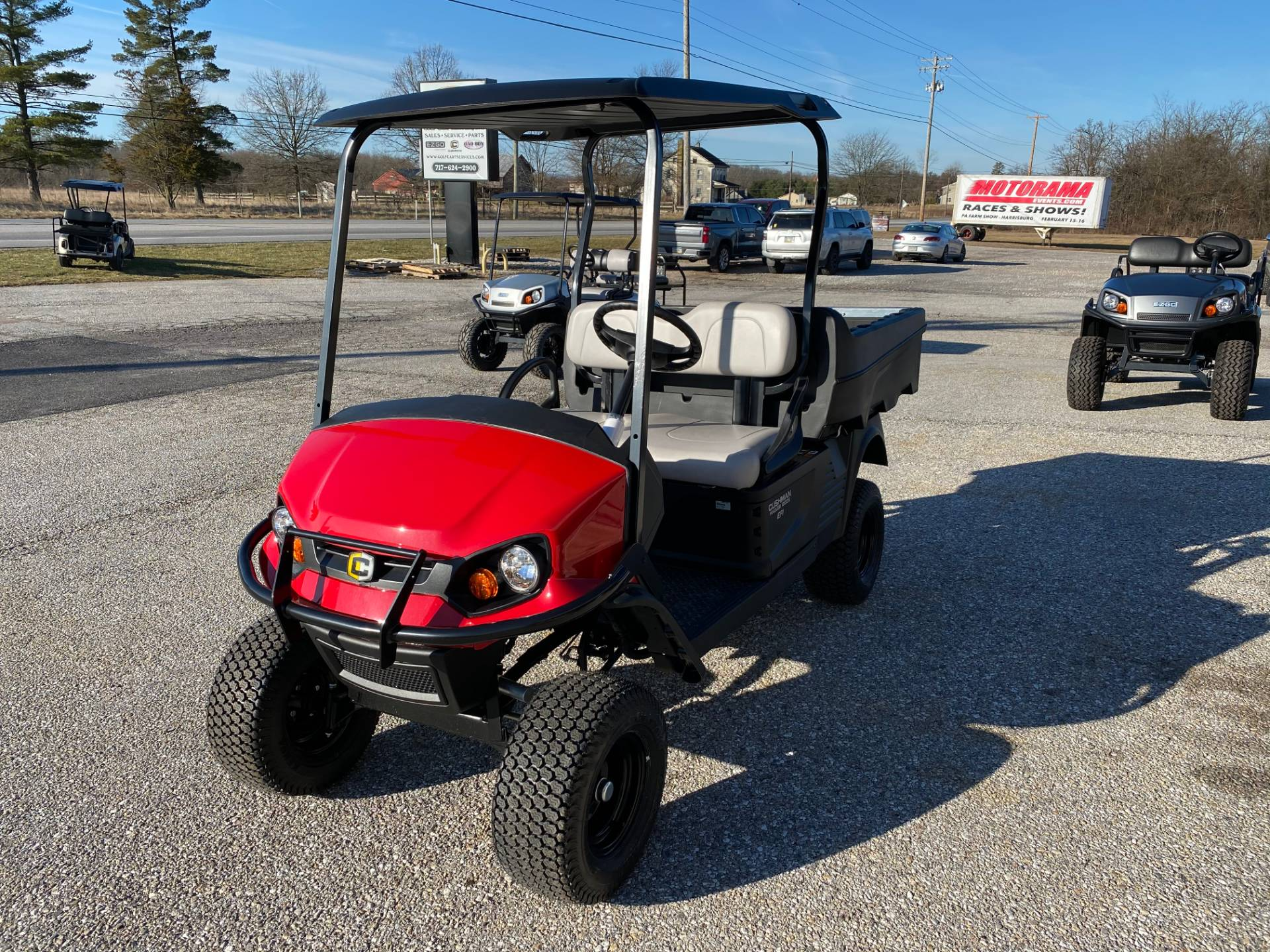 2020 Cushman HAULER 1200X EFI in New Oxford, Pennsylvania - Photo 1