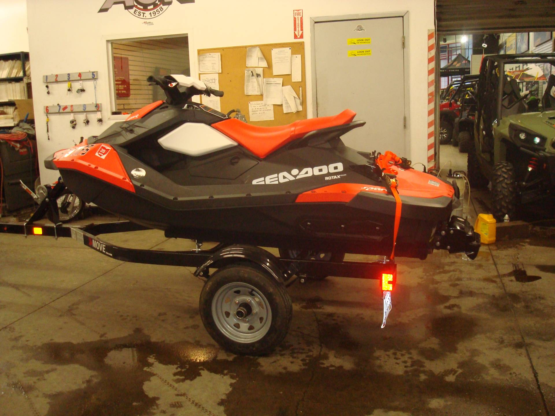 2017 Sea Doo Spark 2up 90 Hp IBR CONV