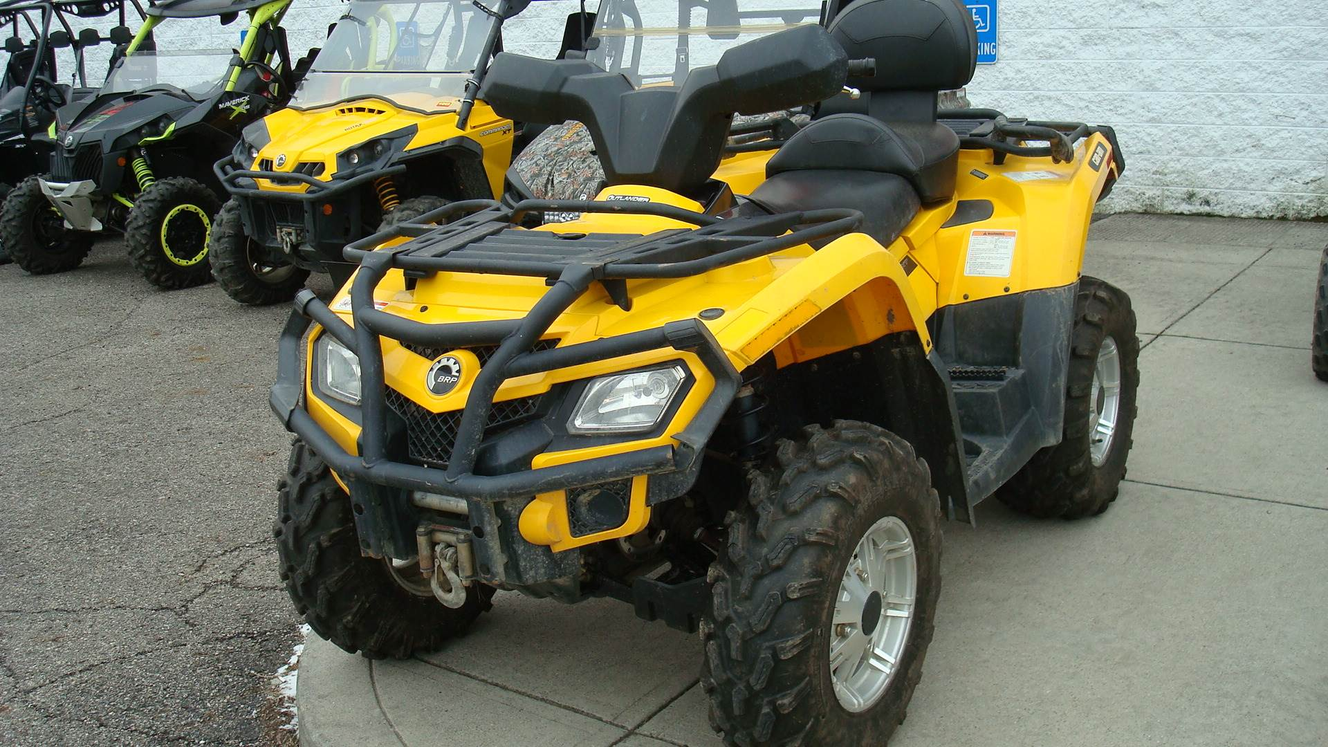 2011 OUTLANDER 400 MAX XT