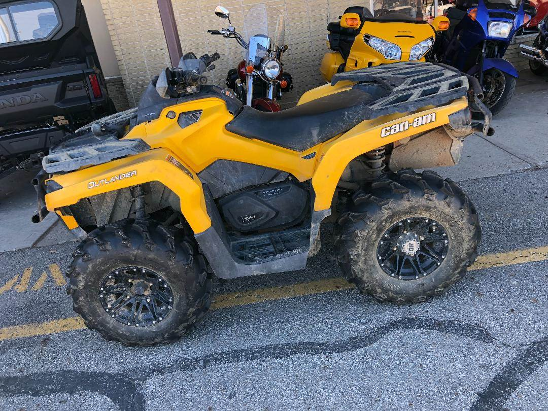 2012 Can-Am OUTLANDER 1000 XT in Columbus, Ohio