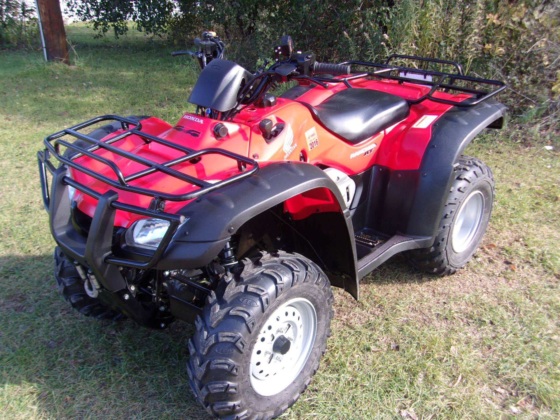 2007 Honda FourTrax® Rancher™ AT in Mukwonago, Wisconsin - Photo 3