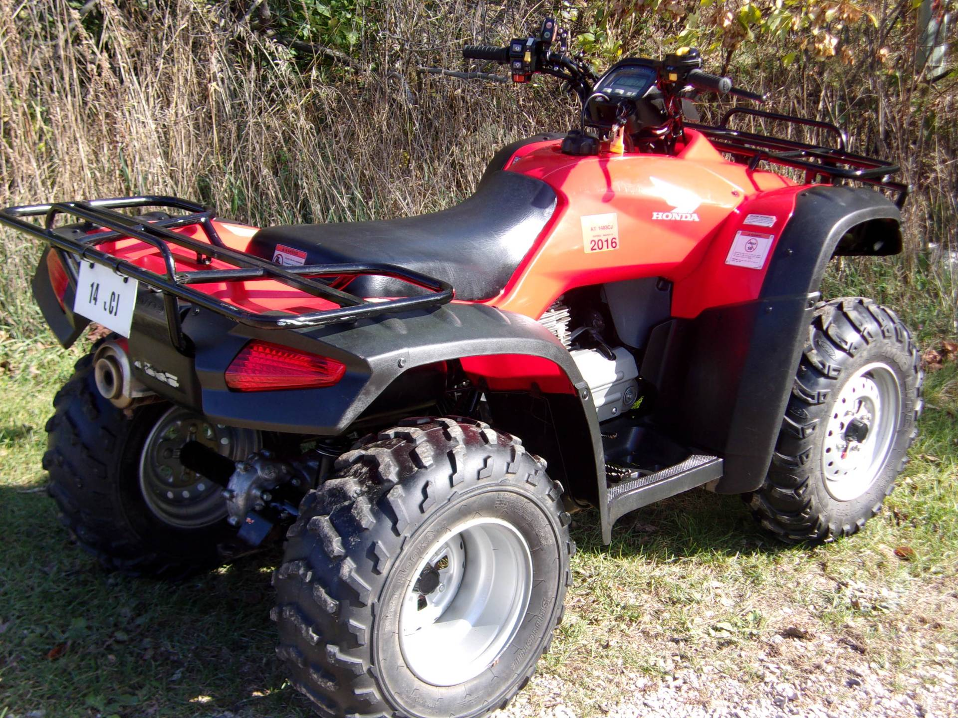 2007 Honda FourTrax® Rancher™ AT in Mukwonago, Wisconsin - Photo 4