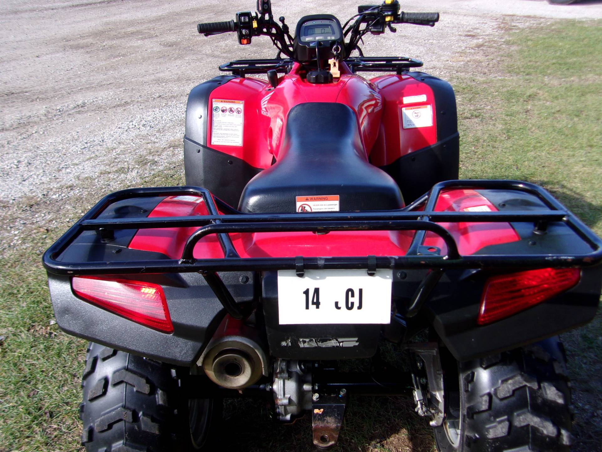 2007 Honda FourTrax® Rancher™ AT in Mukwonago, Wisconsin - Photo 5