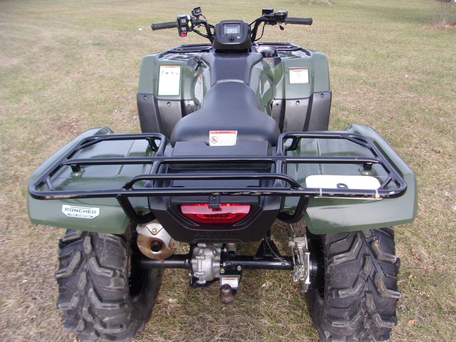 2016 Honda FourTrax Rancher 4x4 ES in Mukwonago, Wisconsin - Photo 8