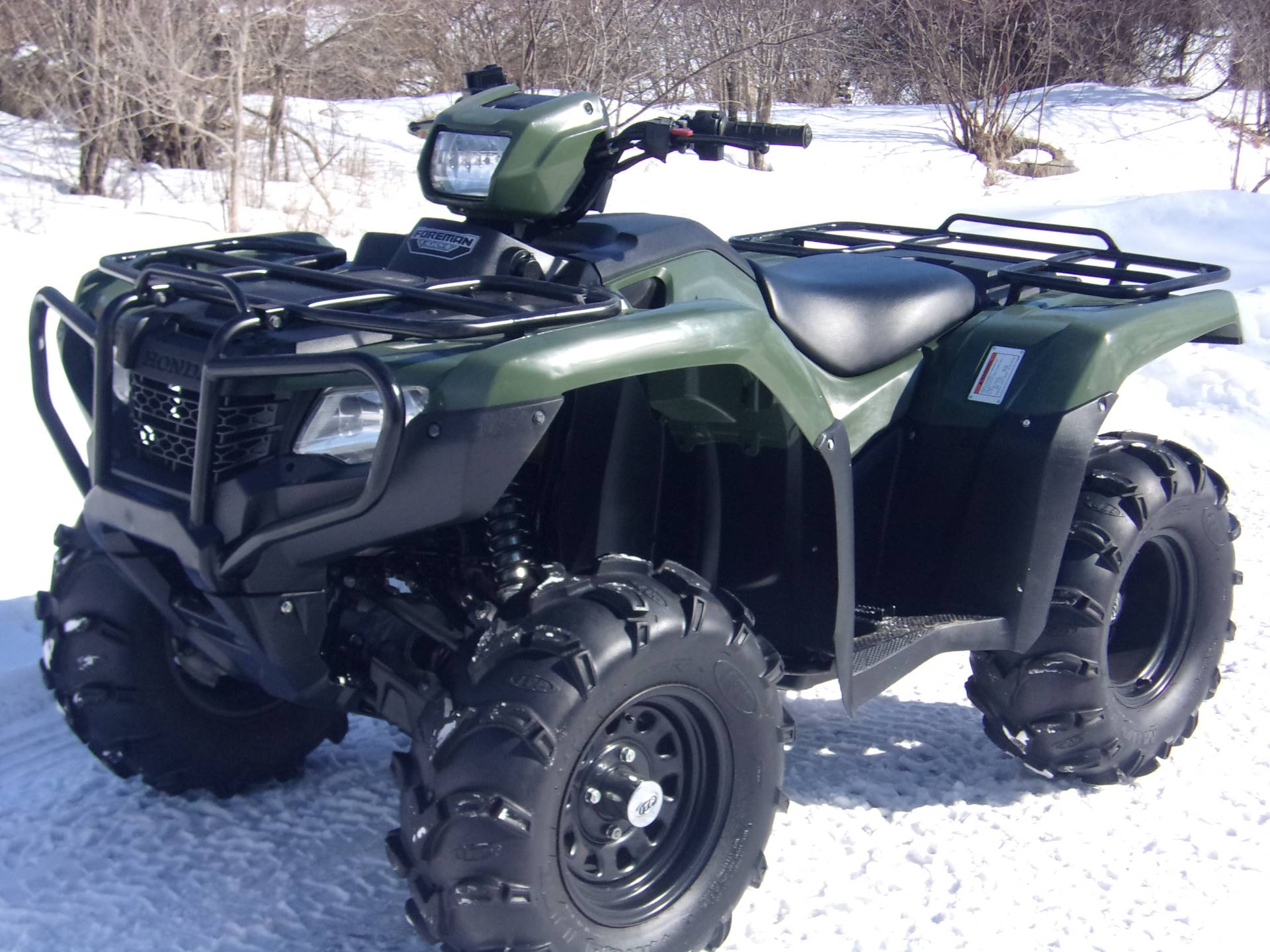 2017 Honda FourTrax Foreman 4x4 in Mukwonago, Wisconsin