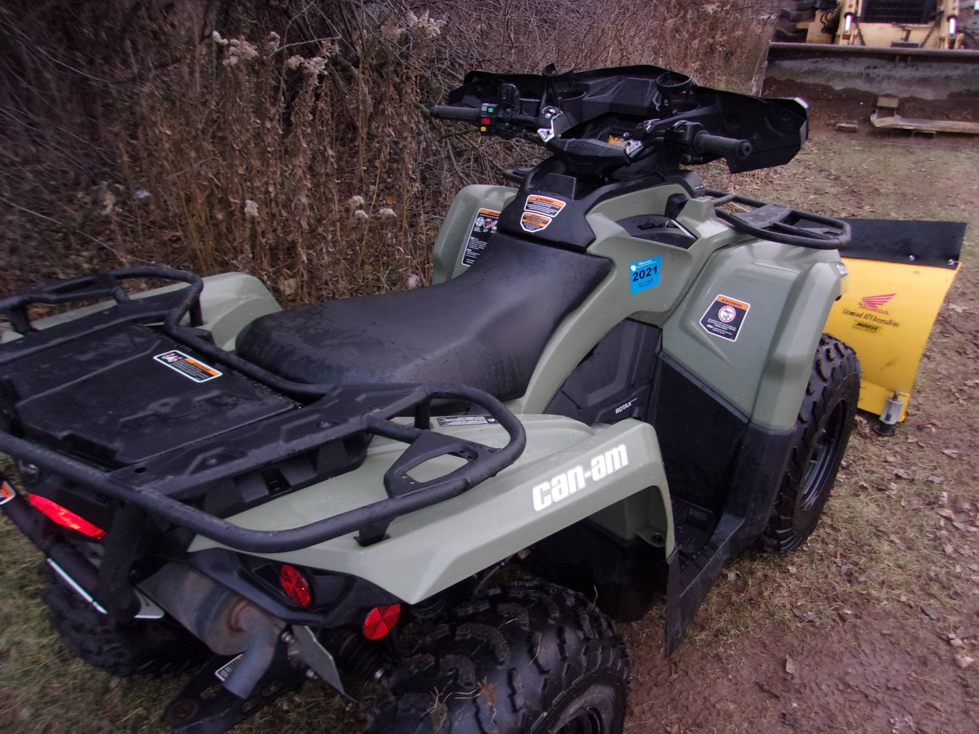 2016 Can-Am Outlander L 570 in Mukwonago, Wisconsin - Photo 7
