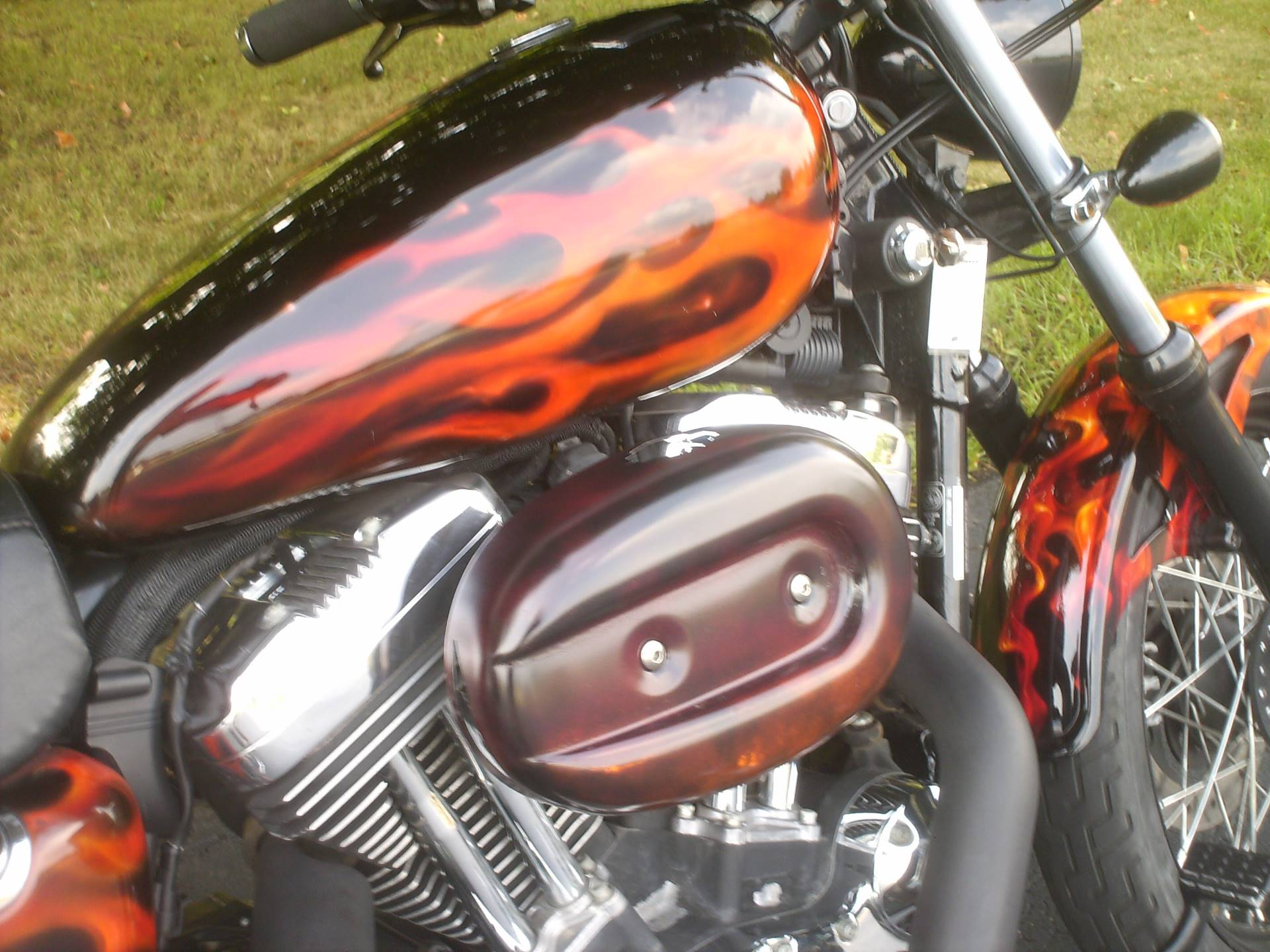 2007 Harley-Davidson Sportster 1200 1 Of A Kind in Mukwonago, Wisconsin - Photo 4