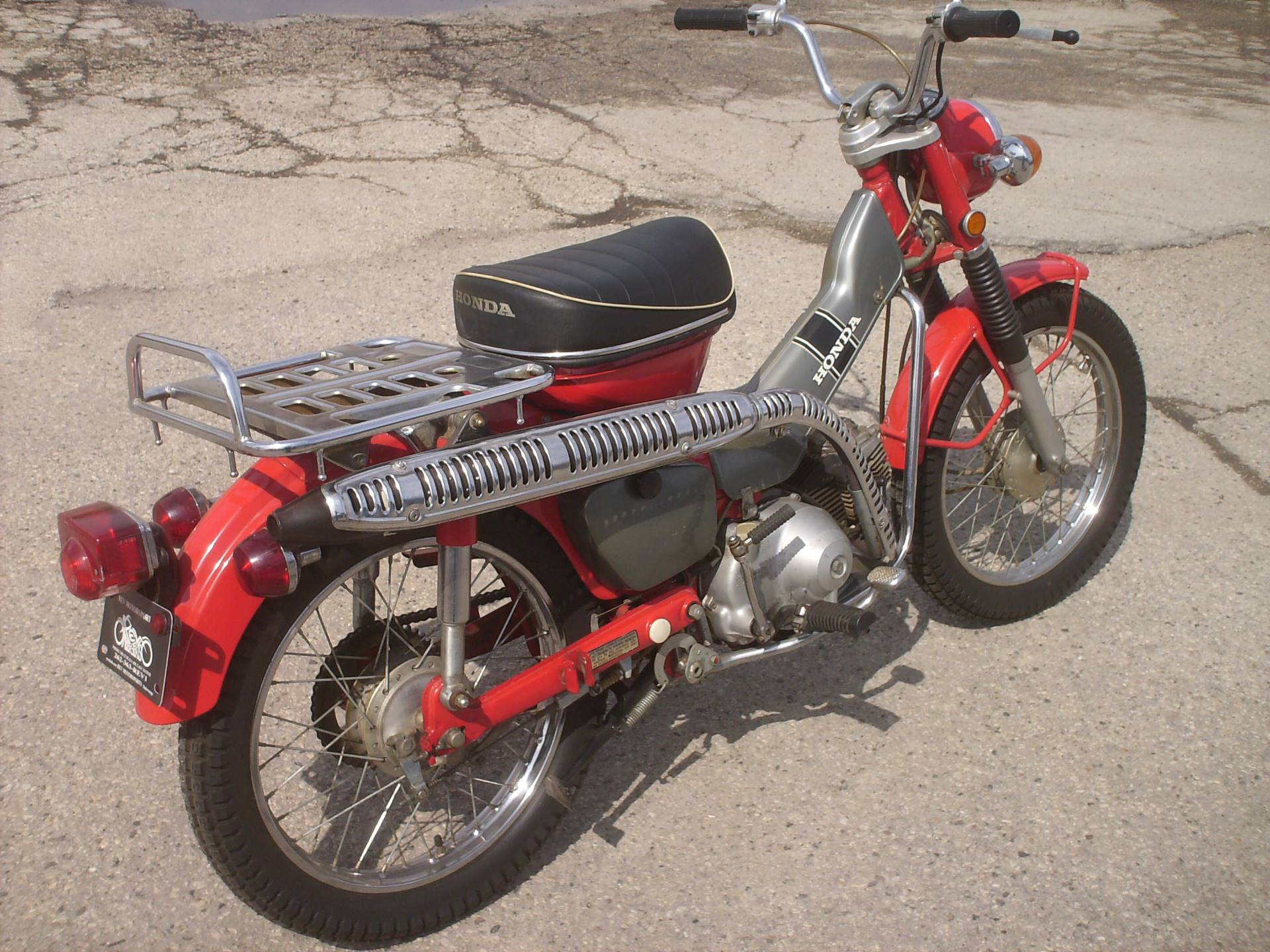 1972 Honda CT90 Trail 90 in Mukwonago, Wisconsin