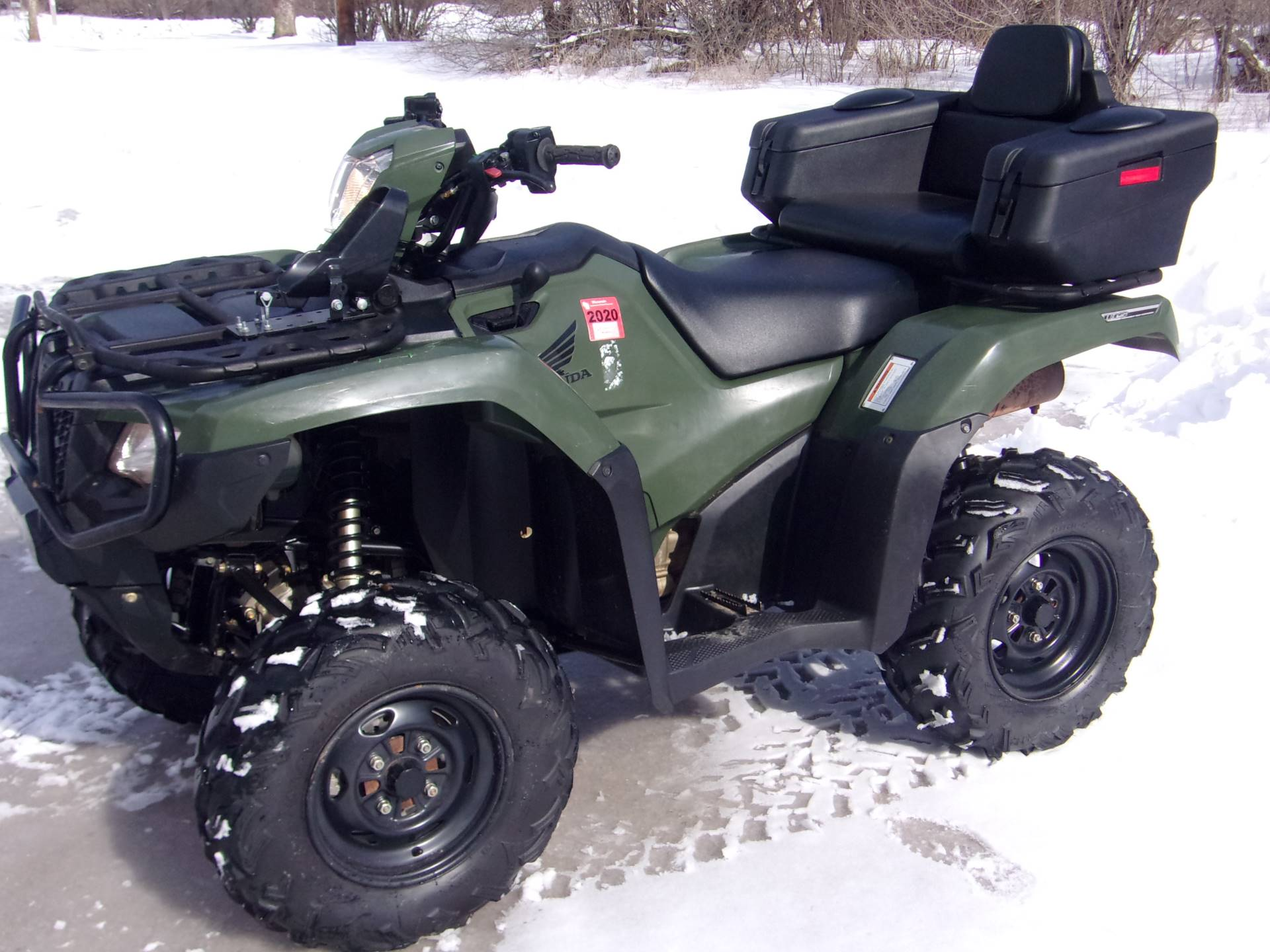 2017 Honda FourTrax Foreman Rubicon 4x4 DCT in Mukwonago, Wisconsin
