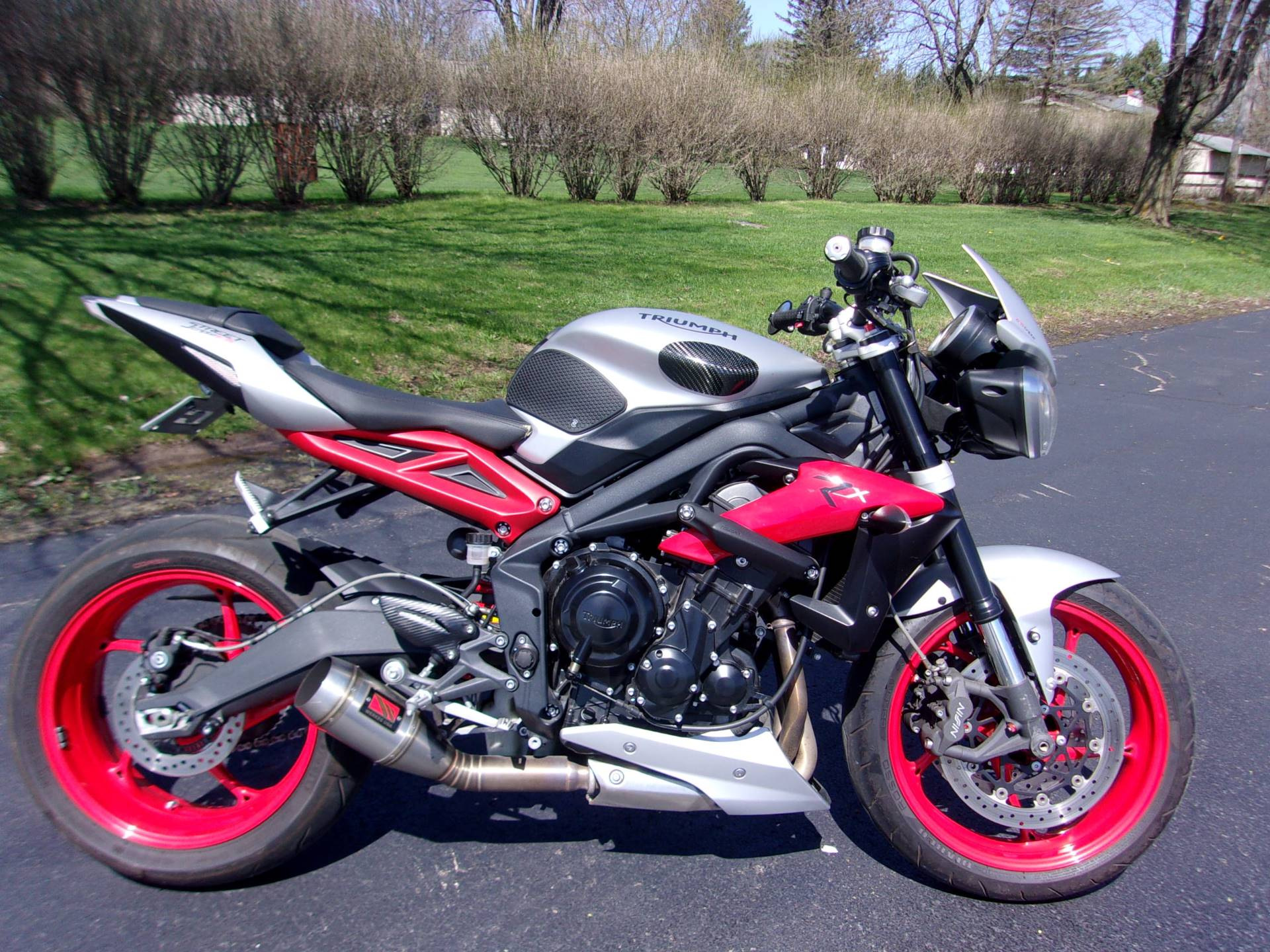 2015 Triumph Street Triple RX ABS in Mukwonago, Wisconsin - Photo 1