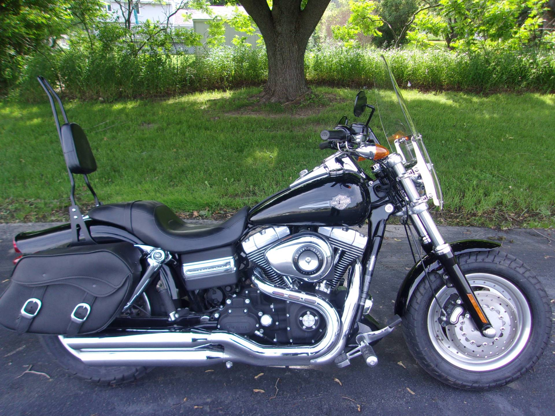 2009 Harley-Davidson Dyna® Fat Bob® in Mukwonago, Wisconsin - Photo 1