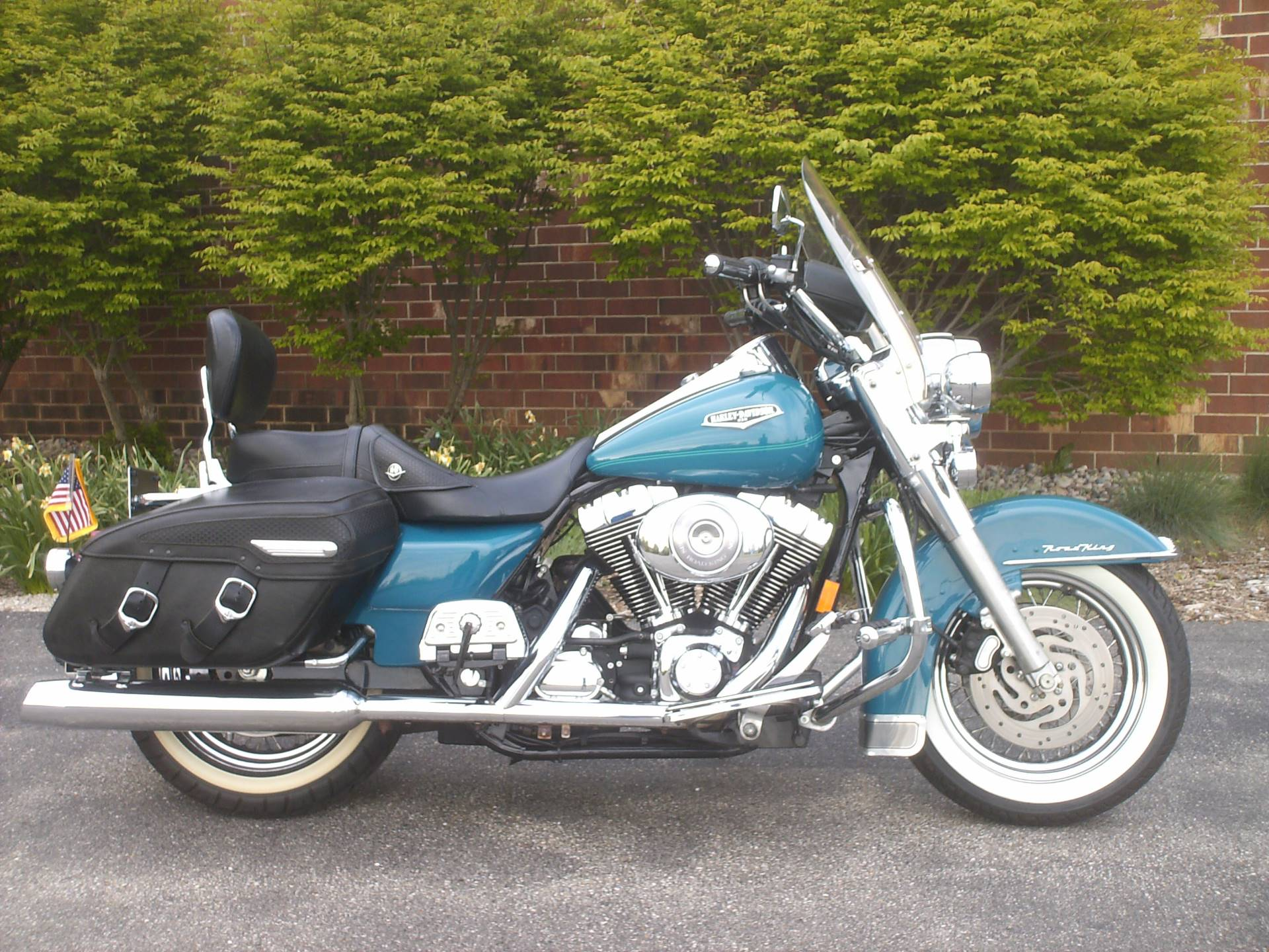 2002 harley davidson road king classic for sale. Black Bedroom Furniture Sets. Home Design Ideas