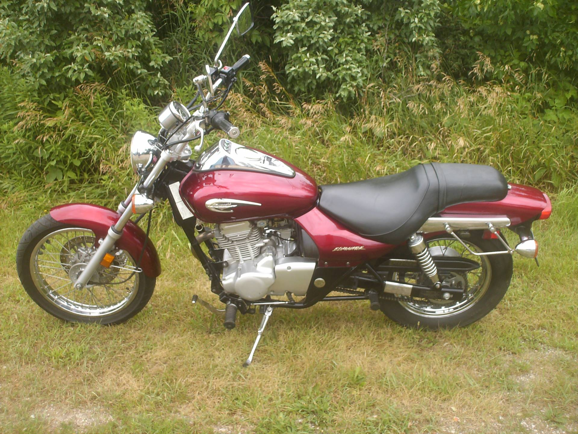2001 Kawasaki Eliminator BN125 in Mukwonago, Wisconsin