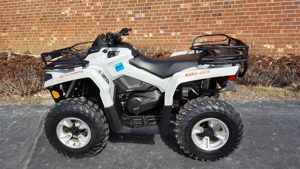 2015 Can-Am Outlander 450L DPS in Mukwonago, Wisconsin - Photo 1