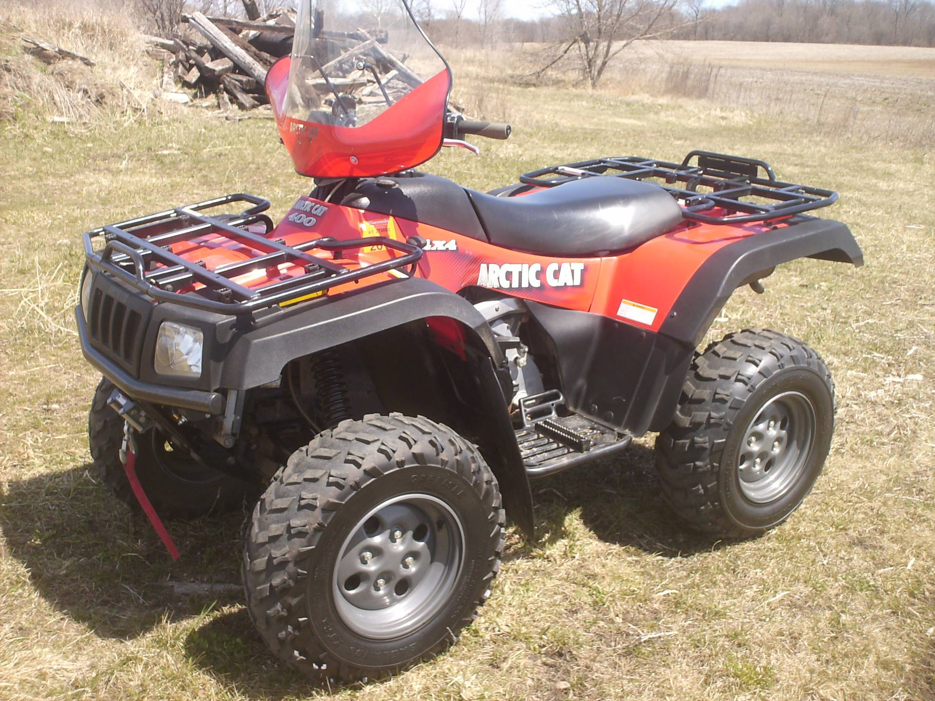 2004 Arctic Cat 400 4X4 Automatic ACT in Mukwonago, Wisconsin