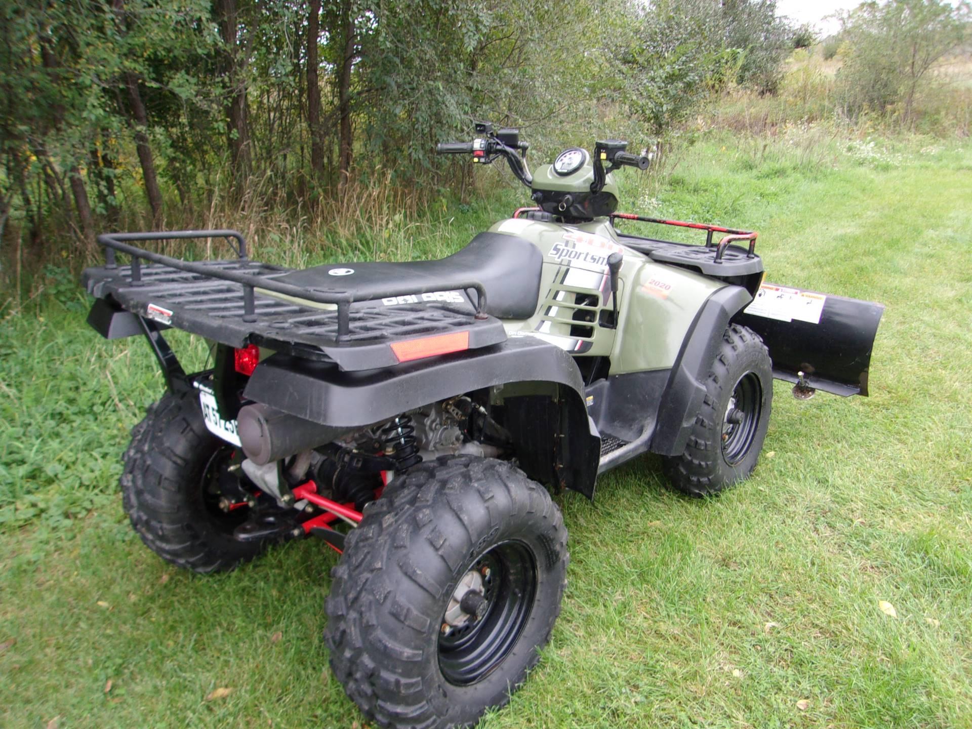 Used 2004 Polaris Sportsman 400 ATVs in Mukwonago, WI