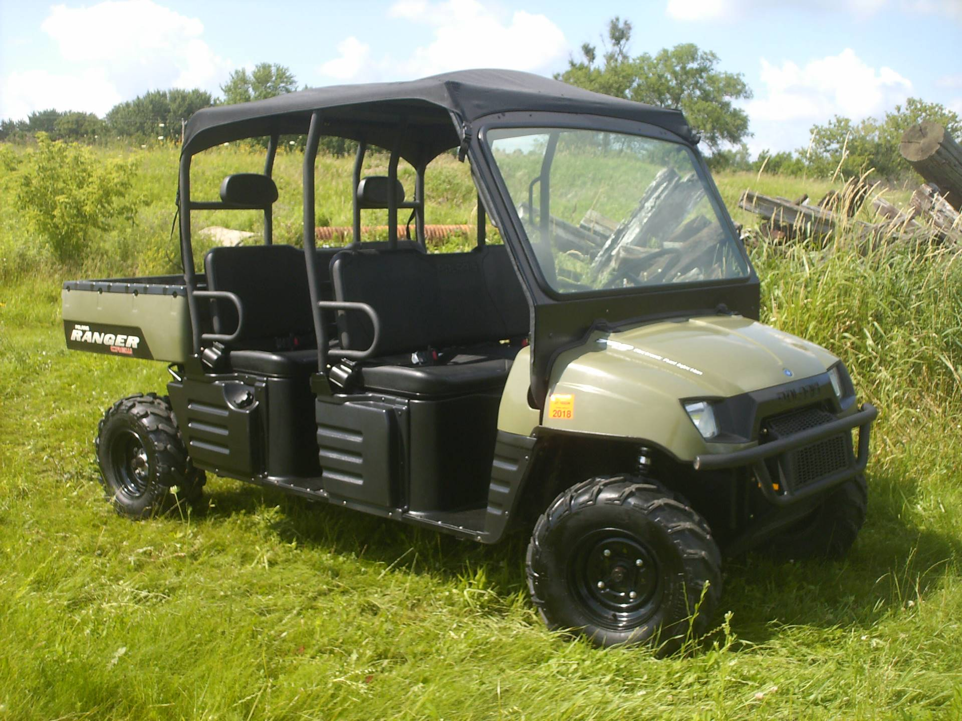 2008 Polaris Ranger Crew in Mukwonago, Wisconsin