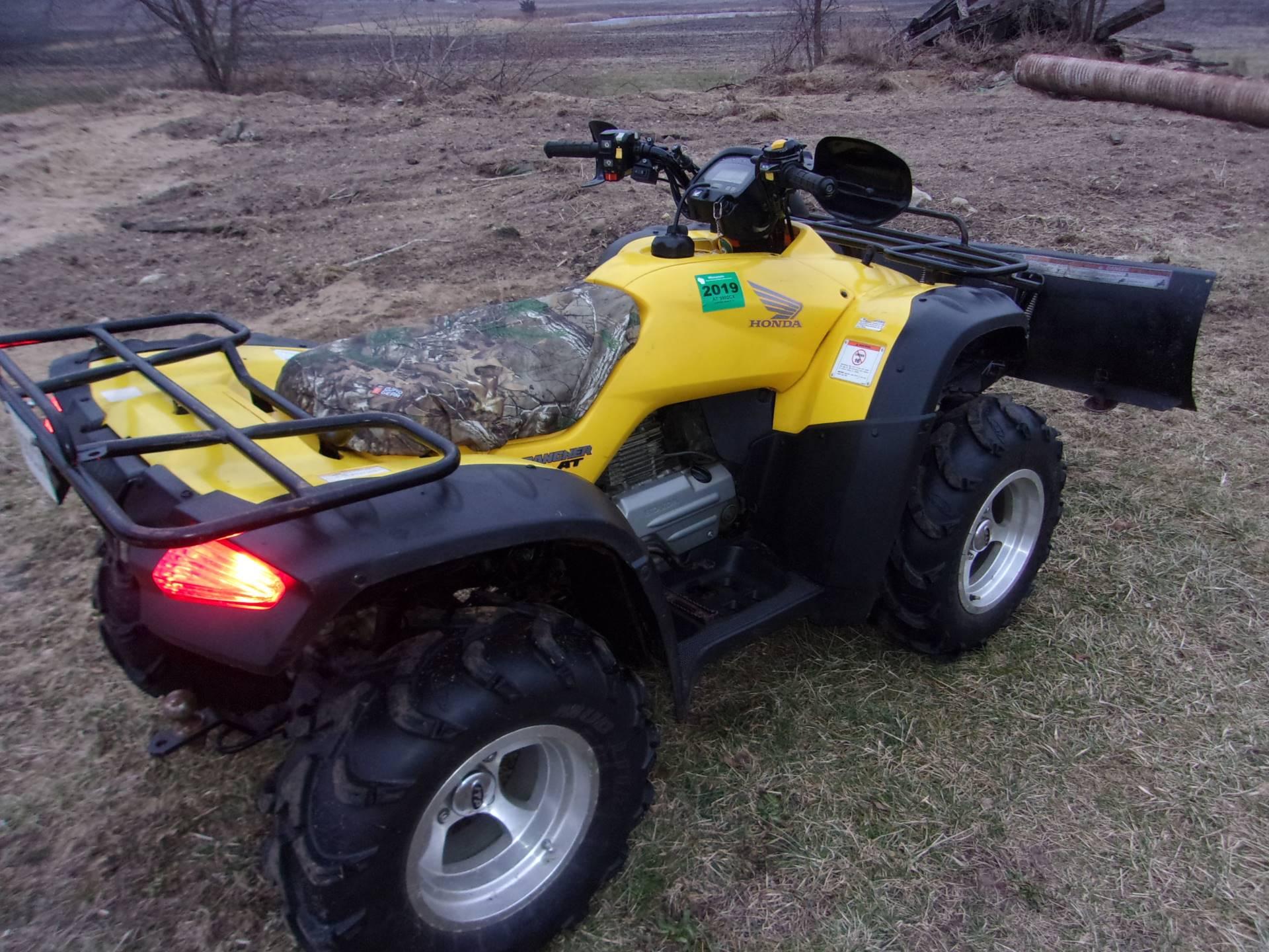 2005 Honda FourTrax Rancher AT 6
