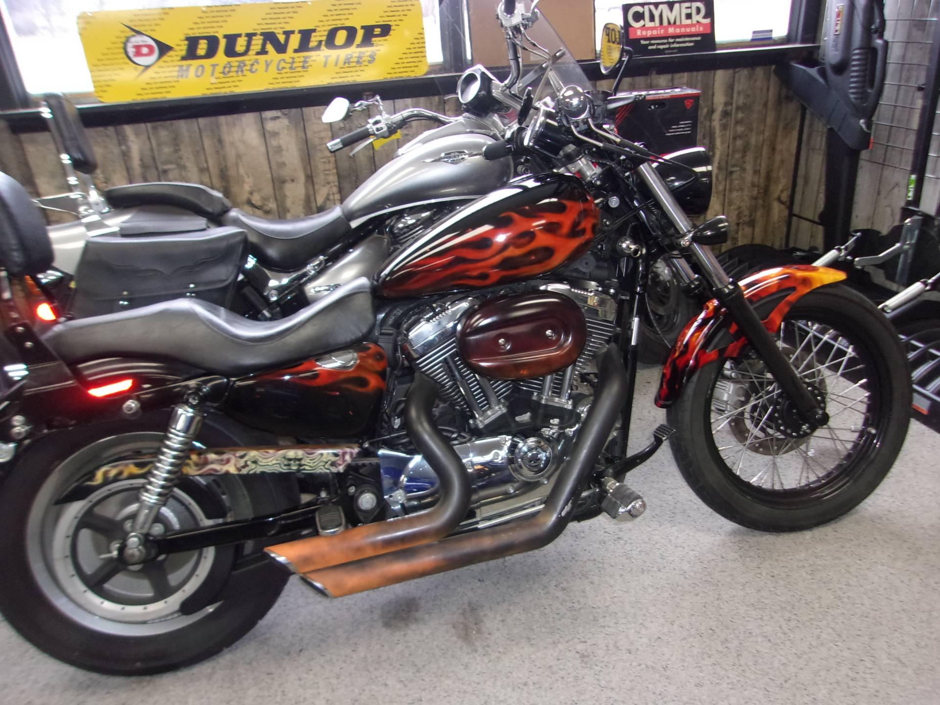 Used 2007 Harley Davidson Sportster 1200 Custom Motorcycles In Mukwonago Wi