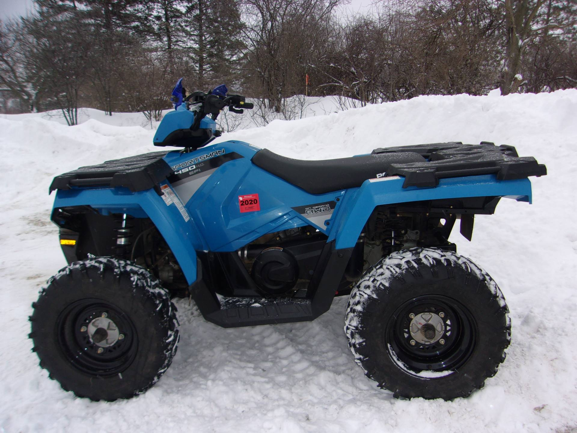 2017 Polaris Sportsman 450 H.O. in Mukwonago, Wisconsin
