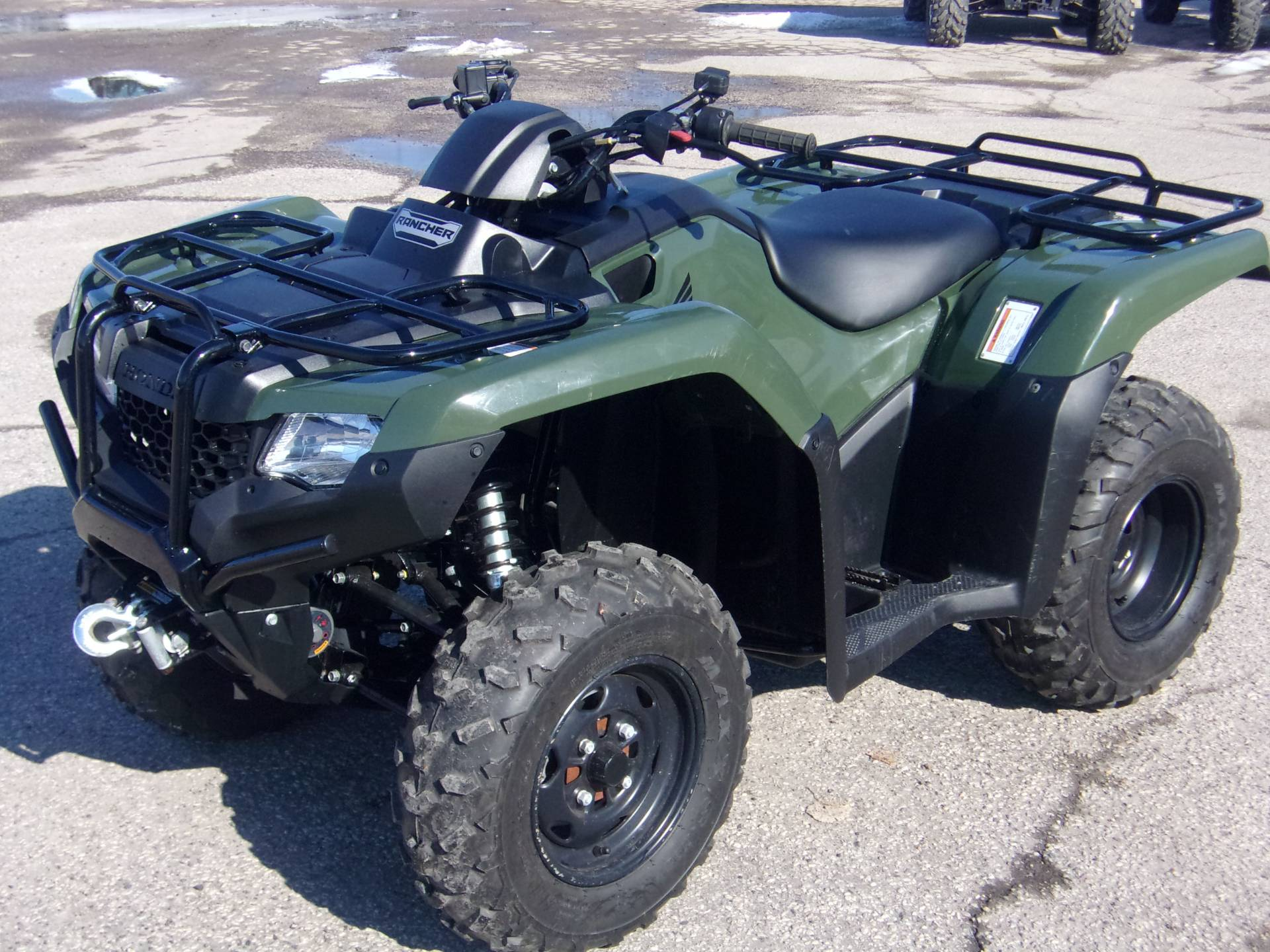 2017 Honda FourTrax Rancher in Mukwonago, Wisconsin - Photo 8