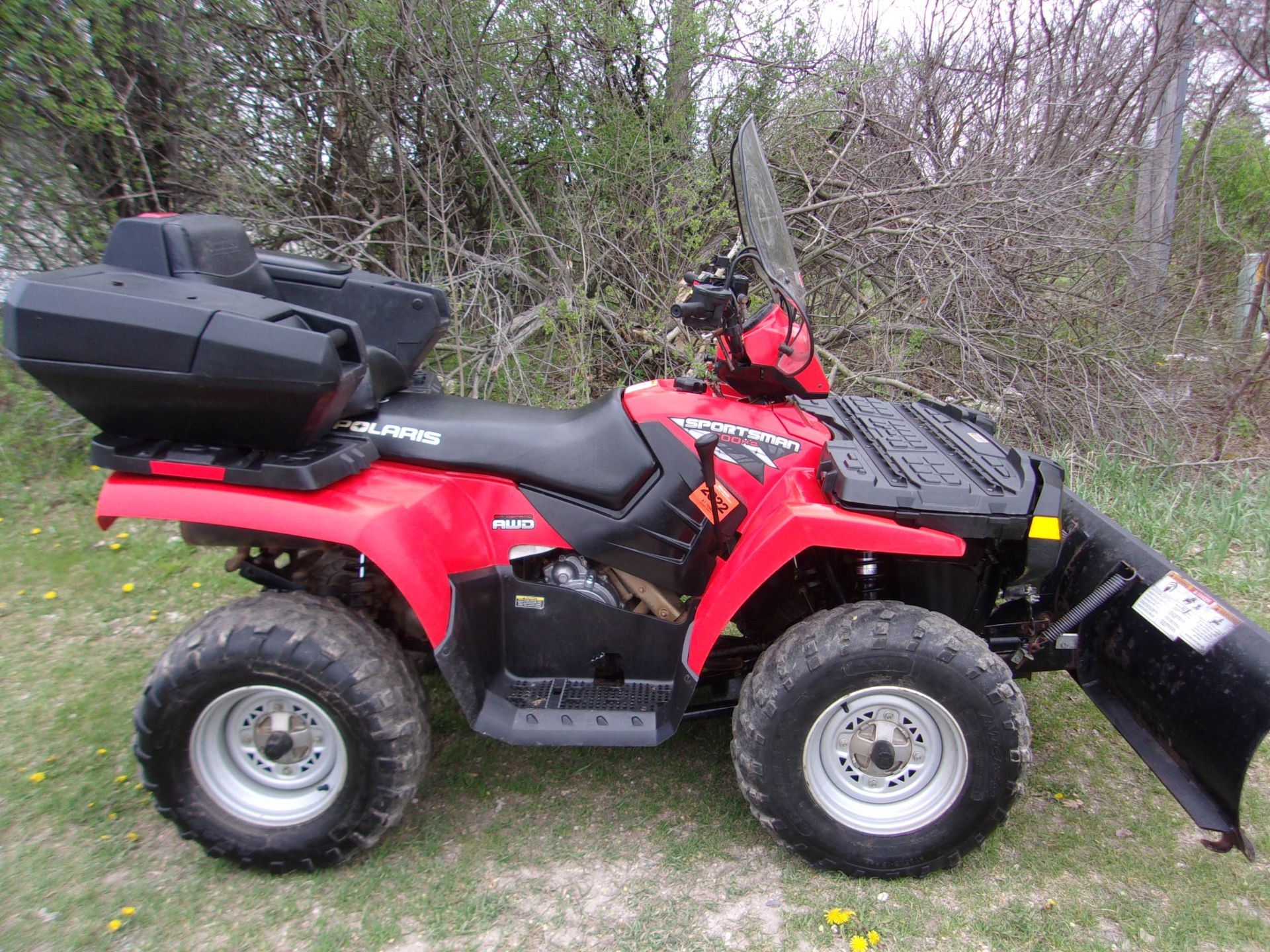 2008 Polaris Sportsman® 500 H.O. in Mukwonago, Wisconsin - Photo 1